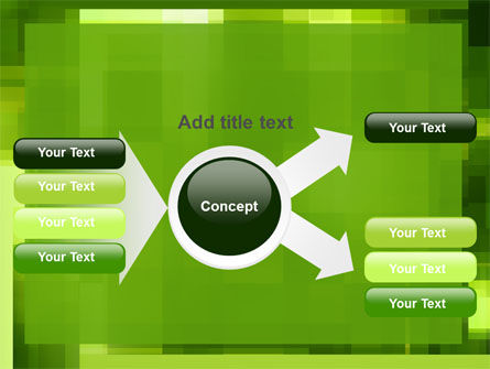 Green Geometric Theme PowerPoint Template Slide 14