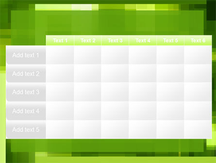 Green Geometric Theme PowerPoint Template Slide 15