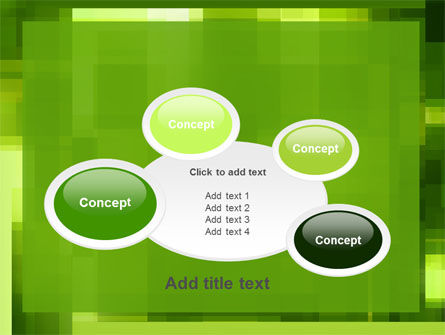 Green Geometric Theme PowerPoint Template Slide 16