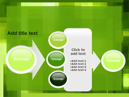 Green Geometric Theme PowerPoint Template Slide 17