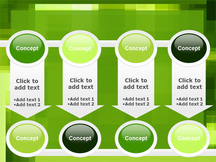 Green Geometric Theme PowerPoint Template Slide 18