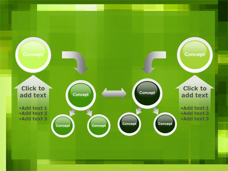 Green Geometric Theme PowerPoint Template Slide 19