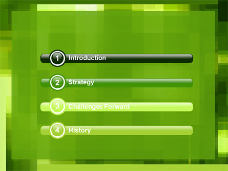 Green Geometric Theme PowerPoint Template Slide 3