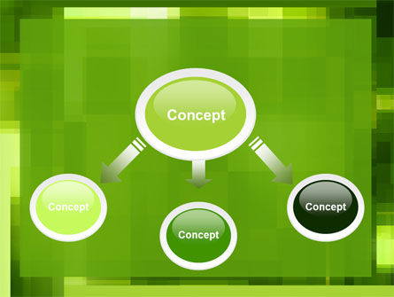 Green Geometric Theme PowerPoint Template Slide 4