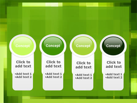 Green Geometric Theme PowerPoint Template Slide 5