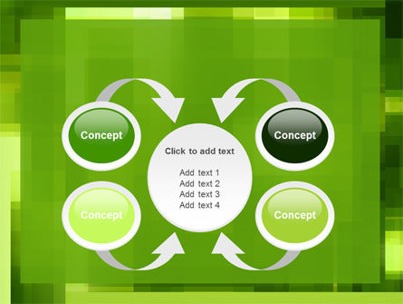 Green Geometric Theme PowerPoint Template Slide 6