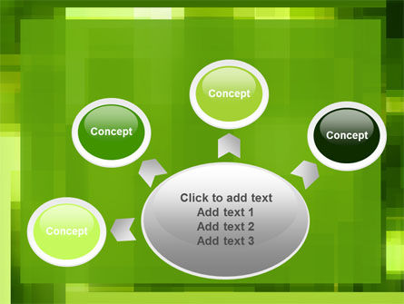Green Geometric Theme PowerPoint Template Slide 7