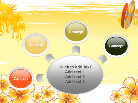 Surfing Theme PowerPoint Template Slide 7