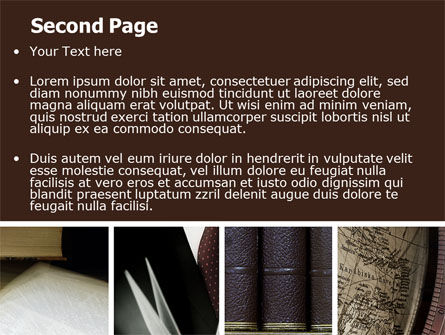 Ancient Texts PowerPoint Template Slide 2