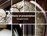 Education & Training: Ancient Texts PowerPoint Template #06874