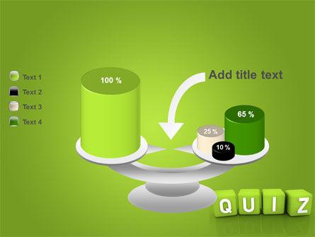 Quiz PowerPoint Template Slide 10