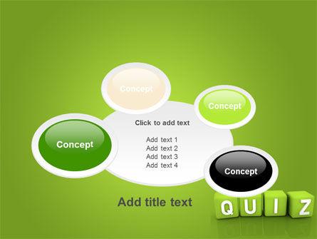 Quiz PowerPoint Template Slide 16
