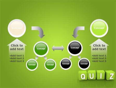 Quiz Powerpoint Template Backgrounds 06875 Poweredtemplate