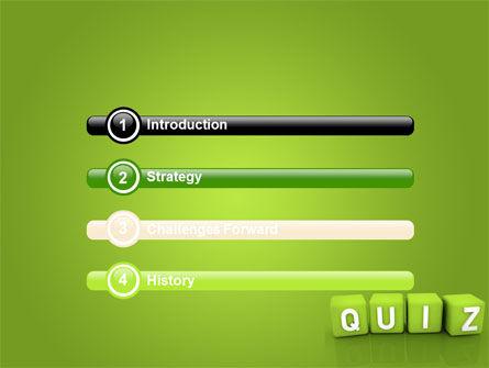 Quiz PowerPoint Template Slide 3