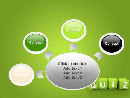 Quiz PowerPoint Template Slide 7