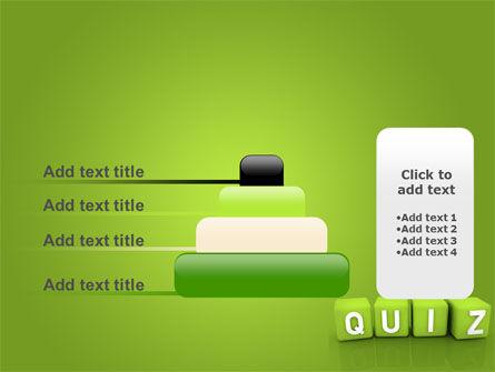 Quiz PowerPoint Template Slide 8