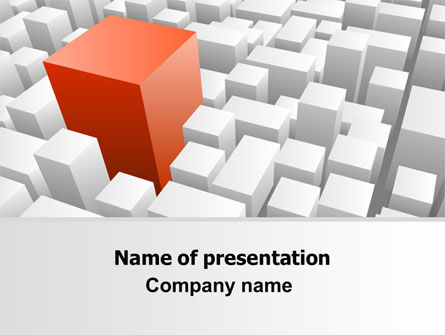 Variability PowerPoint Template, 06876, Business Concepts — PoweredTemplate.com