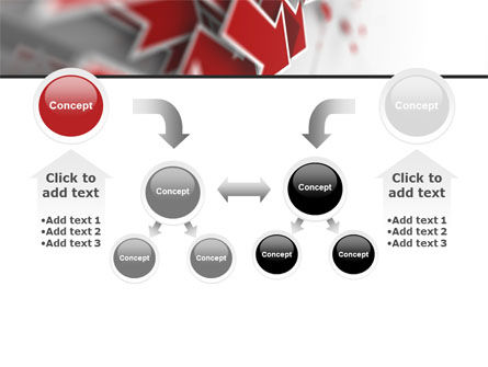 Red Arrows PowerPoint Template Slide 19