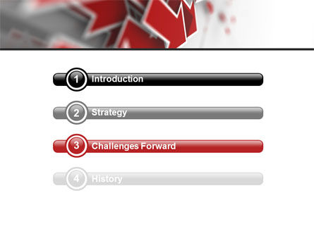 Red Arrows PowerPoint Template, Slide 3, 06878, Consulting — PoweredTemplate.com