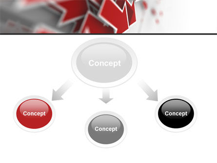 Red Arrows PowerPoint Template, Slide 4, 06878, Consulting — PoweredTemplate.com