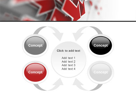 Red Arrows PowerPoint Template Slide 6