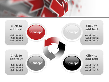 Red Arrows PowerPoint Template Slide 9