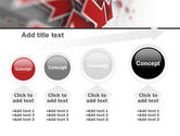 Red Arrows PowerPoint Template#13