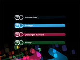 Colorful Arrows PowerPoint Template#3
