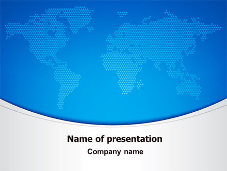 Global: Clean Global Theme PowerPoint Template #06882
