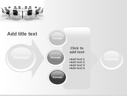 Roundtable Discussion PowerPoint Template Slide 17