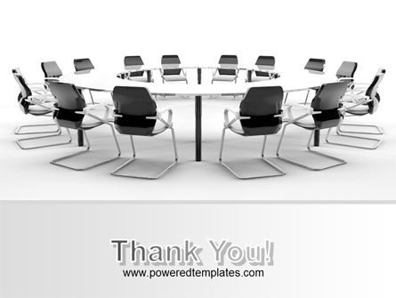 Roundtable Discussion PowerPoint Template Slide 20