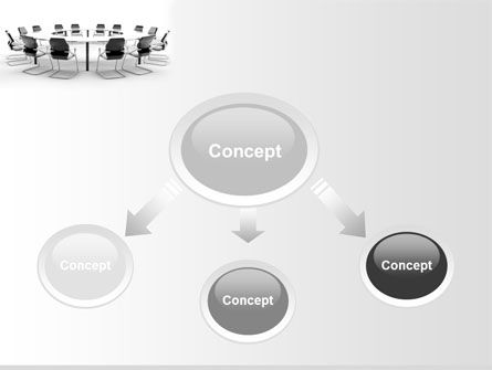 Roundtable Discussion PowerPoint Template, Slide 4, 06883, Business — PoweredTemplate.com