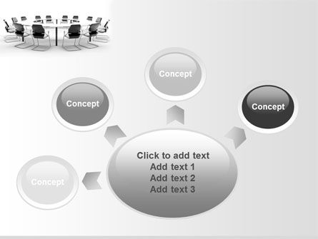 Roundtable Discussion PowerPoint Template Slide 7