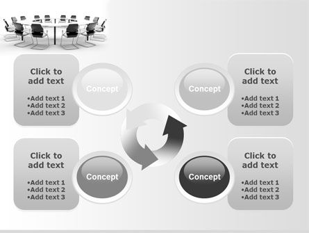 Roundtable Discussion PowerPoint Template Slide 9