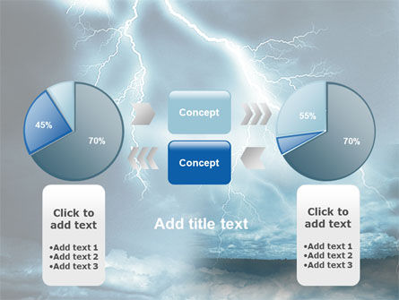 Stormy Times PowerPoint Template Slide 11