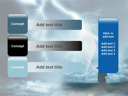 Stormy Times PowerPoint Template Slide 12