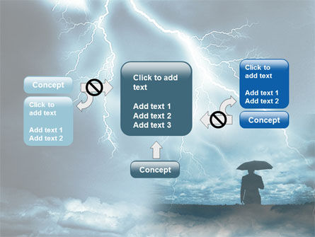 Stormy Times PowerPoint Template Slide 13