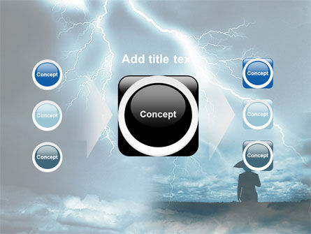 Stormy Times PowerPoint Template Slide 17