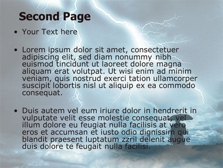 Stormy Times PowerPoint Template, Slide 2, 06884, Consulting — PoweredTemplate.com