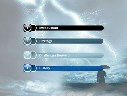 Stormy Times PowerPoint Template, Slide 3, 06884, Consulting — PoweredTemplate.com