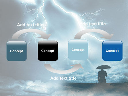 Stormy Times PowerPoint Template, Slide 4, 06884, Consulting — PoweredTemplate.com