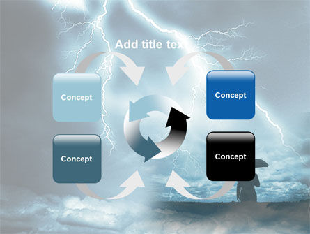 Stormy Times PowerPoint Template Slide 6