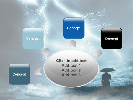 Stormy Times PowerPoint Template Slide 7