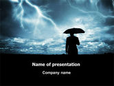 Consulting: Stormy Times PowerPoint Template #06884