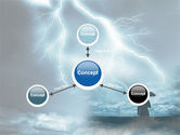 Stormy Times PowerPoint Template#14