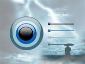Stormy Times PowerPoint Template#9