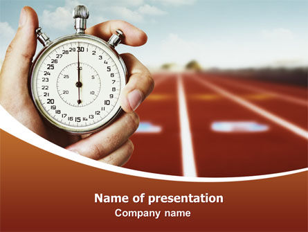 Business Concepts: Speed Limit PowerPoint Template #06886
