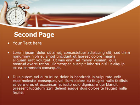Speed Limit PowerPoint Template Slide 2