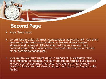 Speed Limit PowerPoint Template, Slide 2, 06886, Business Concepts — PoweredTemplate.com
