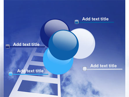Ladder to Heaven PowerPoint Template Slide 10